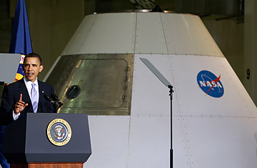 Obama Explains NASA Policy, Faces Space-Industry Critics ...