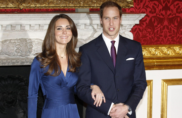 U K Announces Engagement Of Prince William To Kate Middleton Time