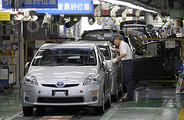 Toyota Plants In Usa >> Japan Quake: Disaster Affects U.S. Car Sales, Factories - TIME