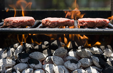 love to barbecue ditch the gas grill fire up the coals time