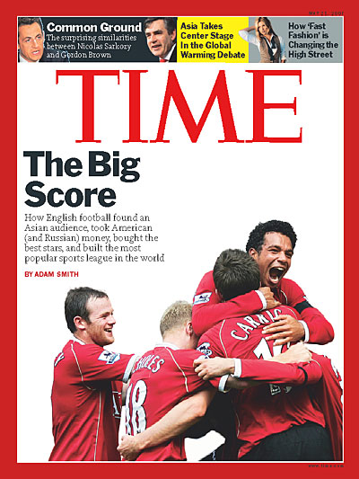 TIME Magazine -- Europe, Middle East and Africa Edition