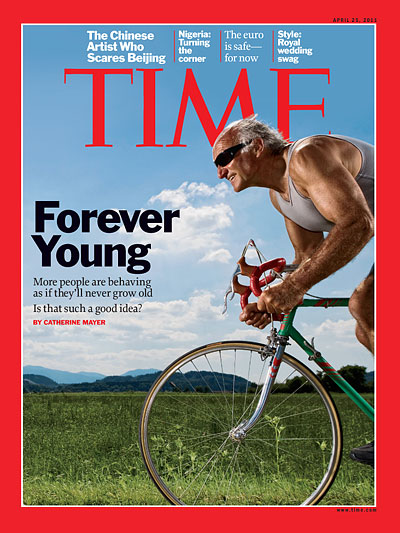 TIME Magazine Cover: Forever Young - Apr  25, 2011 - live