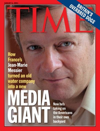 Image result for Messier Time magazine cover