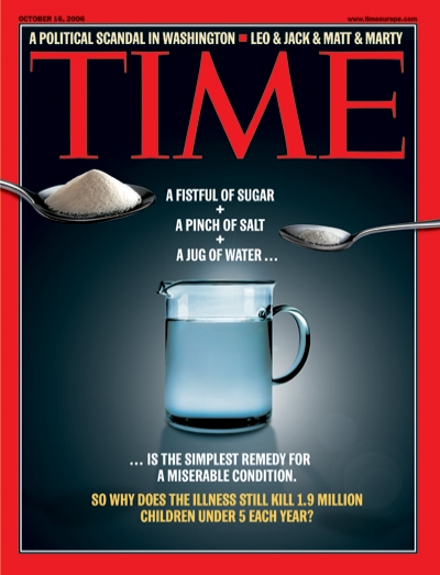 Time Magazine Cover Diarrhea A Simple Solution Oct 16
