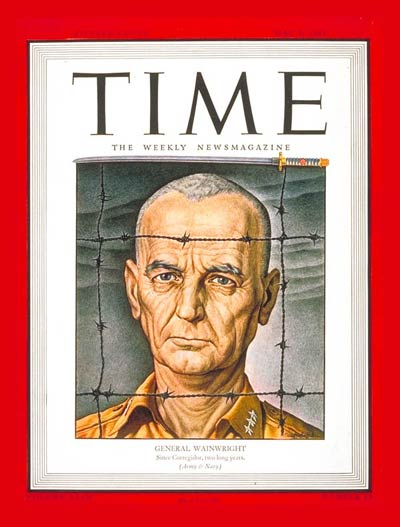 Time Magazine Cover Lt Gen Wainwright May 8 1944