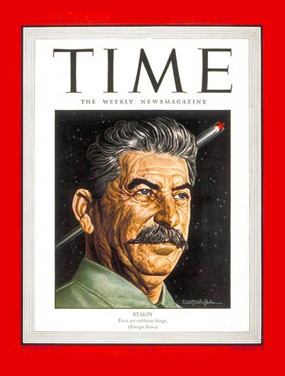 Joseph Stalin Is Named Time Magazine's 'Person Of The Year' For A Second Time