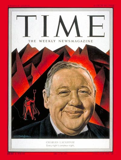 Time Magazine Cover Charles Laughton Mar 31 1952