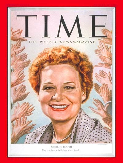 TIME Magazine Cover: Shirley Booth - Aug. 10, 1953 - Television ...