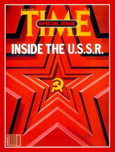 time magazine cover inside the u s s r june 23 1980 russia