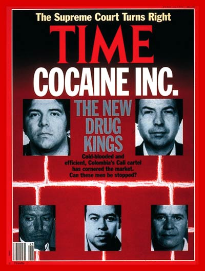 Time Magazine Cover Inside The Cocaine Business July 1 1991 Latin America Law Enforcement Crime Drug Trafficking Colombia Cocaine