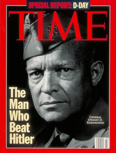 Time Magazine Cover Dwight D Eisenhower June 6 1994