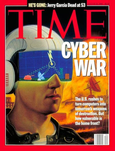 TIME Magazine Cover: Cyber War
