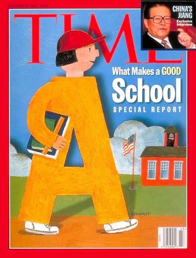 Time Magazine Cover What Makes A Good School Oct 27