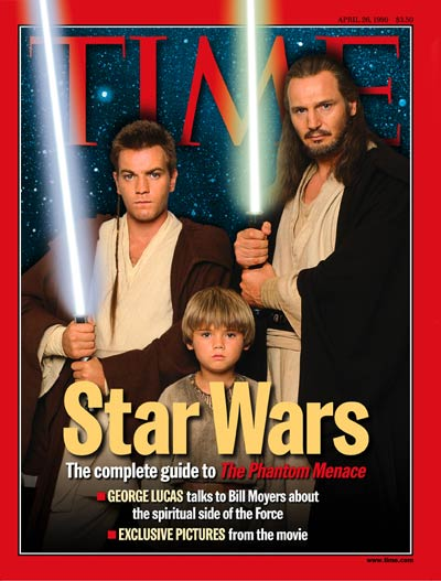 time magazine cover star wars apr 26 1999 star wars science