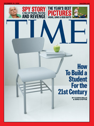 Time Magazine Cover How To Build A Student For The 21st