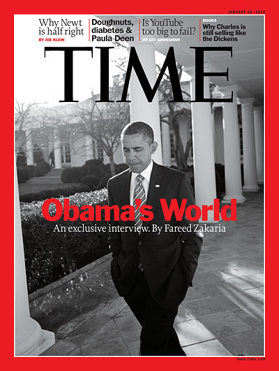 TIME Magazine Cover: Obama's World - Jan. 30, 2012 ...