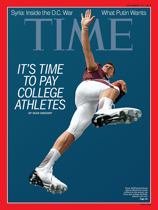 TIME Magazine Cover Its Time to Pay College Athletes