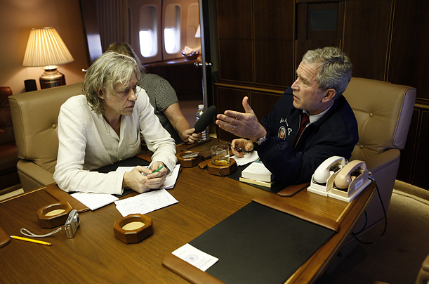 bob geldof travels president bush to africa photo essays time bob geldof musician president george w bush africa humanitarian