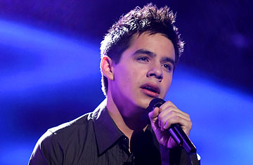 King Versus California King >> David Archuleta - American Idol - TIME