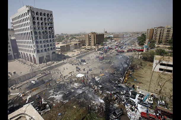 Baghdad Rocked By A Series Of Bombs Photo Essays Time
