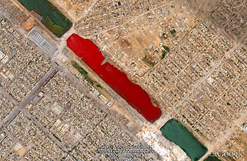 Iraq's Bloody Lake - Top 10 Google Earth Finds - TIME