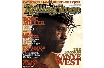 Jesus Walks, Poses for Rolling Stone - Top 10 Outrageous