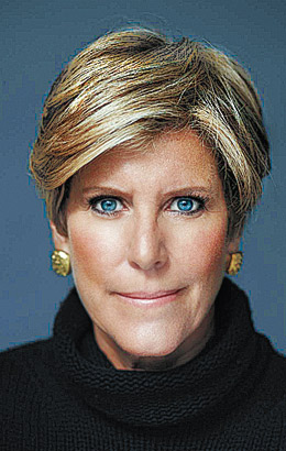 Suze Orman The 2009 Time 100 Time
