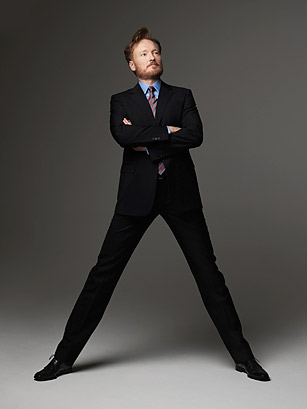 Conan o brien shoe size
