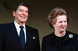 Thatcher and Reagan - Top 10 Across-the-Pond Duos - TIME