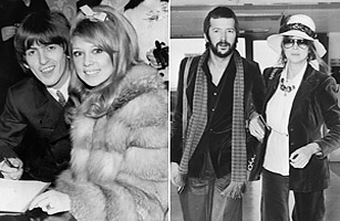 George Harrison Eric Clapton And Pattie Boyd Top 10