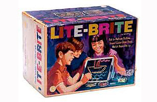 Lite Brite History S Best Toys All Time 100 Greatest