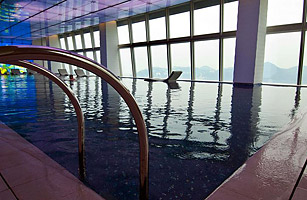 The World S Highest Swimming Pool Top 10 Tallest Structures In The World Time