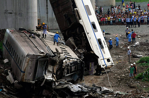 Essay on A Railway Train Accident in English For Students