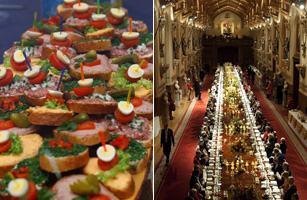 Buffet Lunch Top 10 Ways William And Kate S Wedding