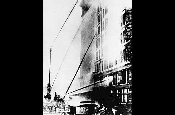 The Triangle Shirtwaist Factory Fire, 100 Years Later - TIME Triangle Shirtwaist Fire Map