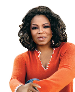 Oprah Users All Her Power to Inspire, Educate, and Lift People Up